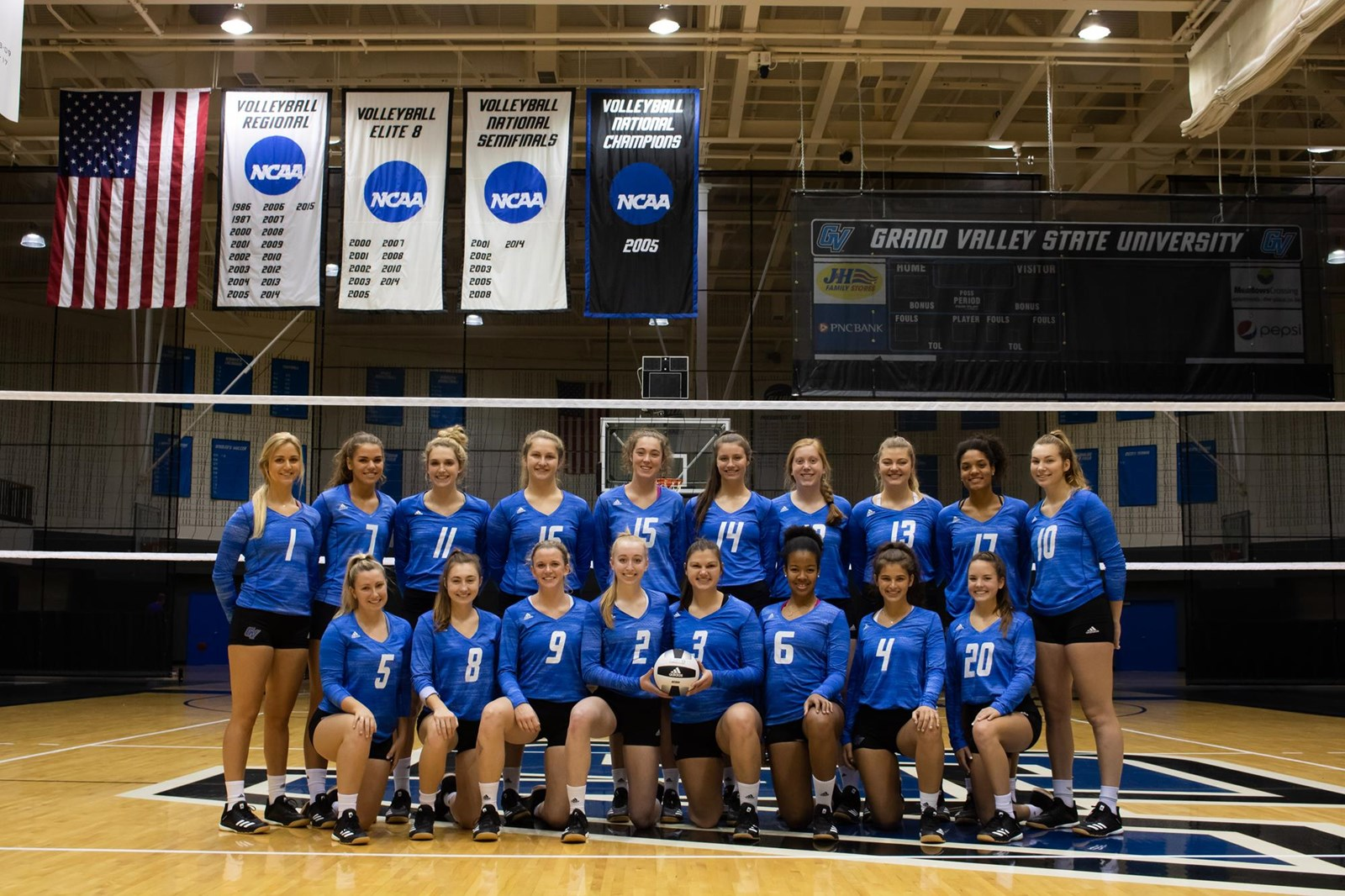 2019 Women S Volleyball Roster Grand Valley State University Athletics